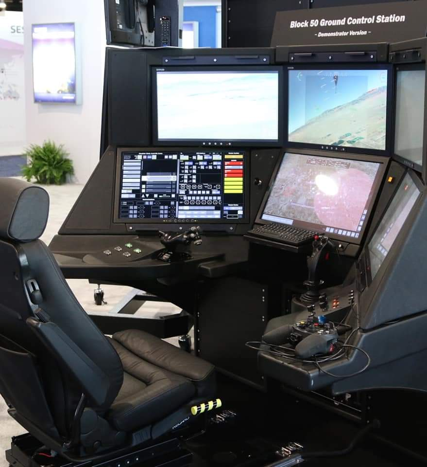 قمرة قيادة الدرون الجد متطور والعالي التكنولوجيا MQ9B الذي سيدخل الخدمة بالقوات المسلحة الملكية…الصور