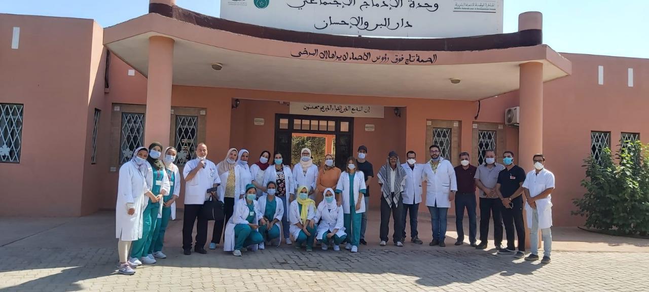 مراكش.. قافلة طبية متعددة التخصصات لفائدة أزيد من 100 شخص مسن